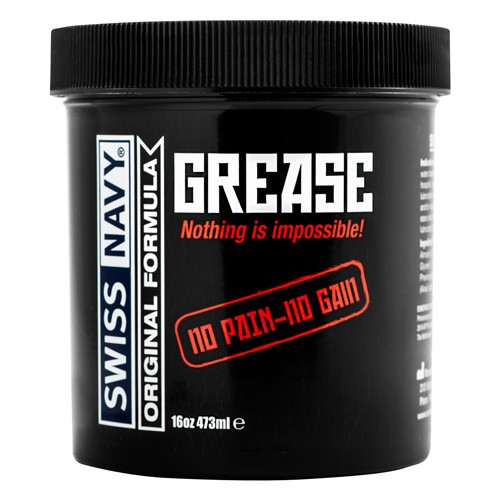 Swiss Navy Grease kremas 473ml | SafeSex