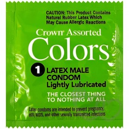 Crown Assorted Colors prezervatyvai | SafeSex