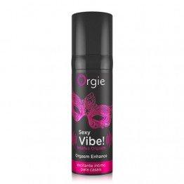Orgie Sexy Vibe! Intense Orgasm gelis 15ml | SafeSex