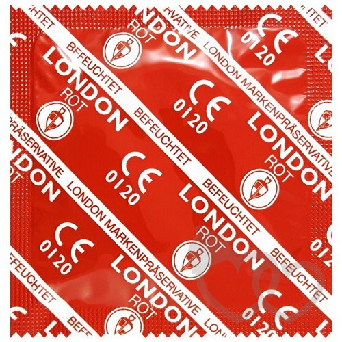 Durex London Rot prezervatyvai | SafeSex