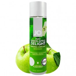 Obuolių aromato System JO H2O Green Apple lubrikantas 120ml | SafeSex