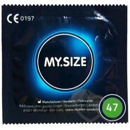 MY.SIZE 47mm prezervatyvai | SafeSex