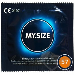 MY.SIZE 57mm prezervatyvai | SafeSex