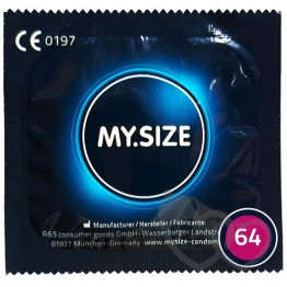 MY.SIZE 64mm prezervatyvai | SafeSex