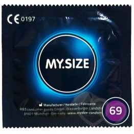MY.SIZE 69mm prezervatyvai | SafeSex
