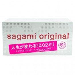 Sagami Original 002 prezervatyvai 20 vnt. | SafeSex
