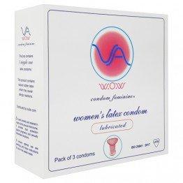 VA W.O.W Female prezervatyvai 3 vnt. | SafeSex
