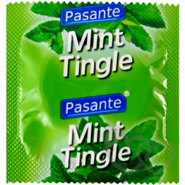 Pasante Mint Tingle prezervatyvai | SafeSex