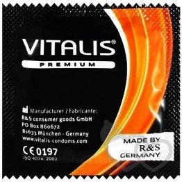 Vitalis Ribbed prezervatyvai | SafeSex