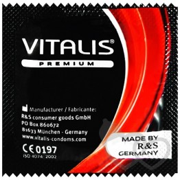 Vitalis Strawberry prezervatyvai | SafeSex