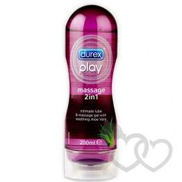 Durex Play Soothing gelis su alaviju 200ml | SafeSex