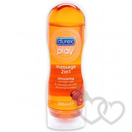 Durex Play Stimulating gelis su guarana 200ml | SafeSex