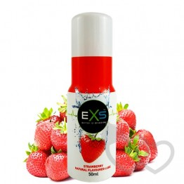 Braškių aromato EXS Strawberry Lube 50ml | SafeSex