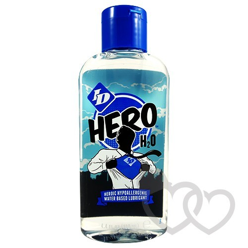 ID Hero H2O 130ml vandens lubrikantas | SafeSex