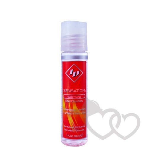 ID Sensation Warming 30ml šildantis lubrikantas | SafeSex