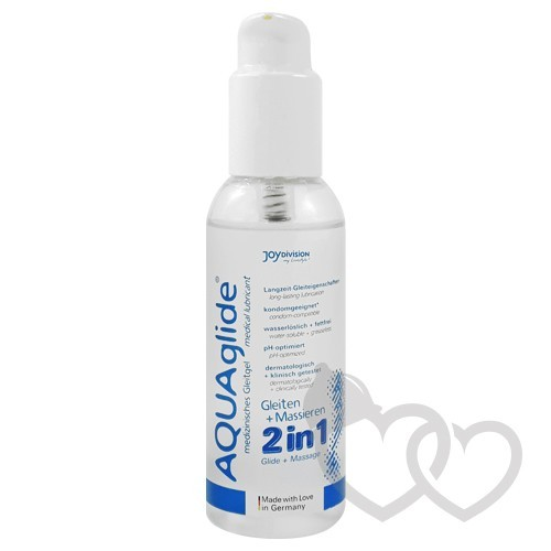 JoyDivision AQUAglide 2 in 1 Glide+Massage 125ml | SafeSex