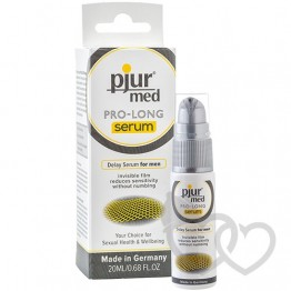 pjur med Pro-Long serumas 20ml | SafeSex