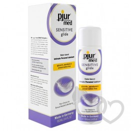 pjur MED Sensitive Glide 100ml lubrikantas | SafeSex