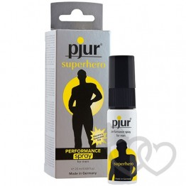 pjur Superhero Delay purškiklis 20ml | SafeSex