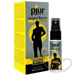 pjur SUPERHERO Strong purškiklis 20ml | SafeSex