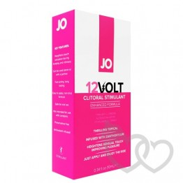 System JO 12VOLT Clitoral Stimulant Enhanced 10ml | SafeSex