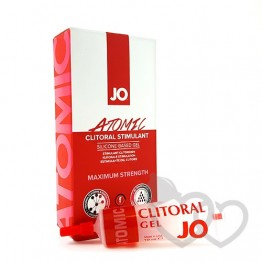 System JO Atomic Clitoral Stimulant gelis 10ml | SafeSex
