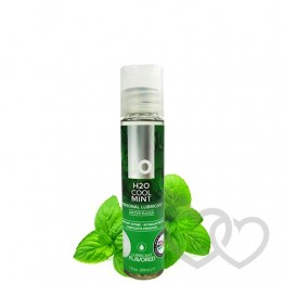 System JO H2O Cool Mint 30ml mėtų lubrikantas | SafeSex