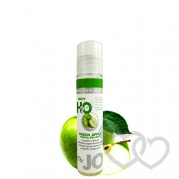 Obuolių aromato System JO H2O Green Apple 30ml | SafeSex