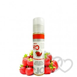 Braškinis System JO H2O Strawberry Kiss 30ml | SafeSex