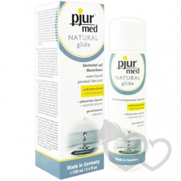 pjur med Natural Glide 100ml lubrikantas | SafeSex