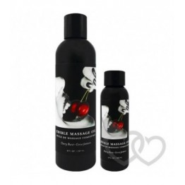 Earthly Body Cherry Edible masažo aliejus 237ml | SafeSex