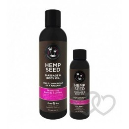 Earthly Body Hemp Seed Skinny Dip Oil 237ml | SafeSex