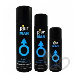 pjur MAN Basic Waterglide lubrikantas 250ml | SafeSex