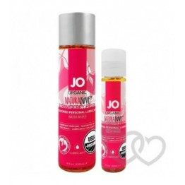 System JO Naturalove Organic Strawberry 120ml | SafeSex