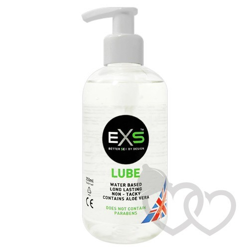 EXS Clear Lube vandens pagrindo lubrikantas 250ml | SafeSex