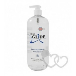 Just Glide Water-based lubrikantas 1l | SafeSex