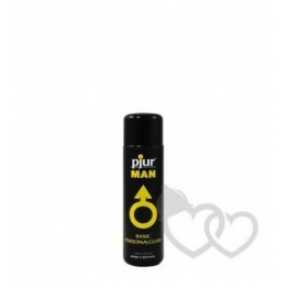 pjur Man Basic Silicono lubrikantas 30ml | SafeSex