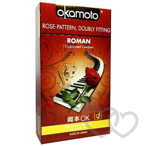 Okamoto Roman prezervatyvai 12 vnt. | SafeSex