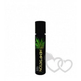 Wet Hemptation lubrikantas su kanapių ekstraktu 30ml | SafeSex