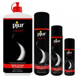 pjur Light silikono pagrindo lubrikantas 500ml | SafeSex