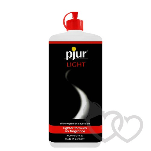 pjur Light silikono pagrindo lubrikantas 1000ml | SafeSex